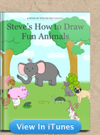 steves-how-to-draw-fun-animals-ibook-itunes-store