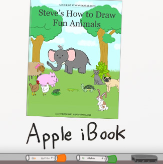 Steve's How to Draw Fun Animals - Apple iBook
